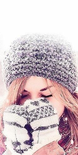 На аву в контакт девушка зимой на аву